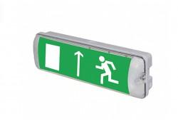 Аварийный светодиодный указатель с БАП