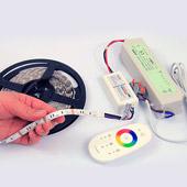 Установка и подключение светодиодной ленты