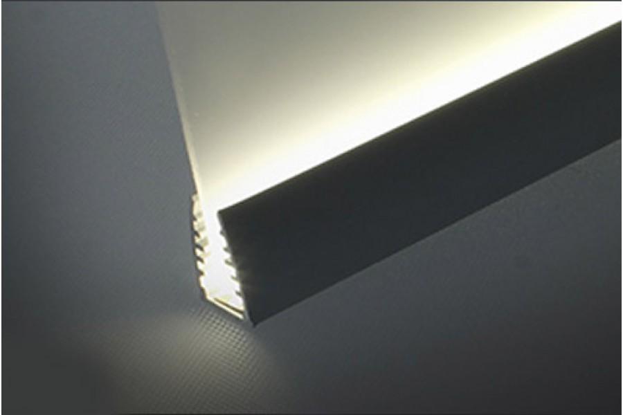 Профиль для светодиодной ленты GLUSS-ALU