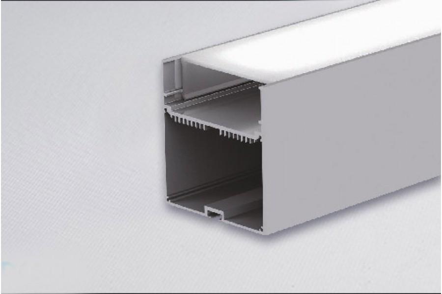 Профиль для светодиодной ленты PLS7577-ALU