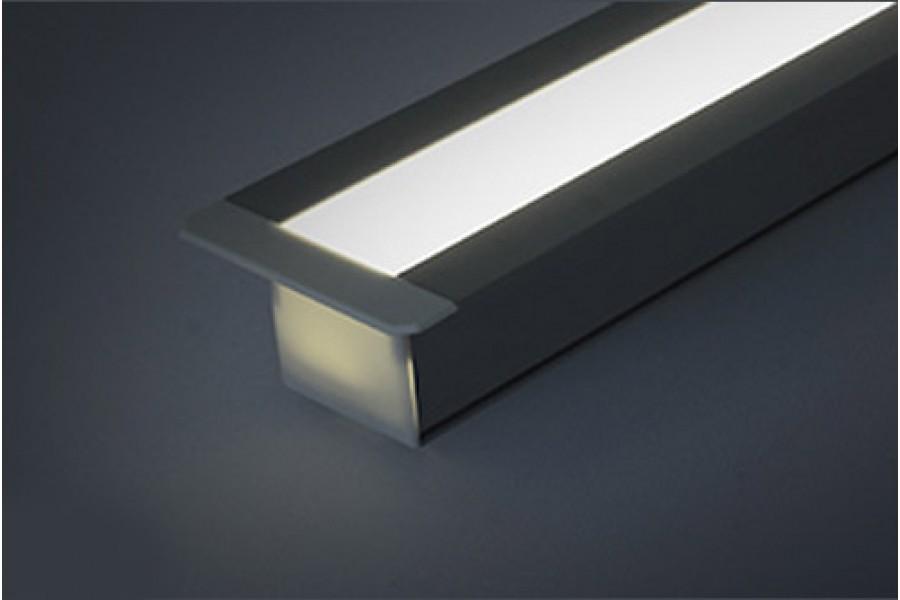 Профиль для светодиодной ленты PLS4-K-ALU